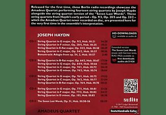 Amadeus Quartett - The RIAS Recordings Vol.6-Berlin,1950-1969-Haydn  - (CD)