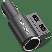 TOMTOM Fast Multi, Ladegerät, passend für Navigationsgeräte, Schwarz