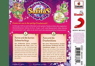 Safiras - 002/Xoros und die bunten Schmetterlinge/Xara und  - (CD)