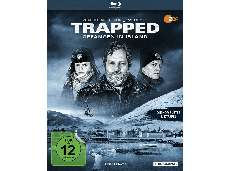 Trapped - Gefangen in Island / 1. Staffel [Blu-ray]