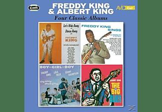 Albert King, Freddie King - Four Classic Albums  - (CD)