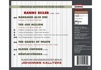 Rundfunk-sinfonieorchester Berlin - Hangmen also die!/The 400 Million/+  - (CD)