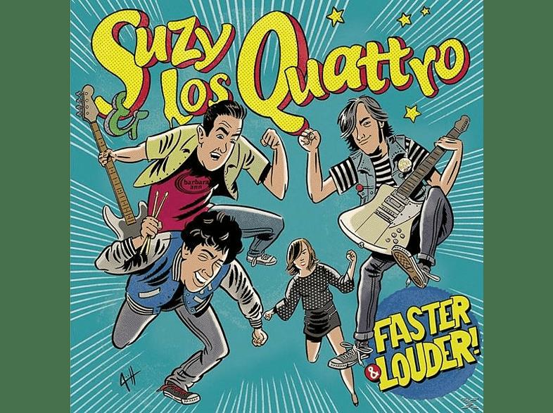 Suzy & Los Quattro - Faster & Louder [Vinyl]