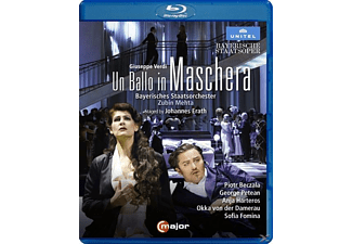 Beczala/Harteros - UN BALLO IN MASCHERA  - (Blu-ray)