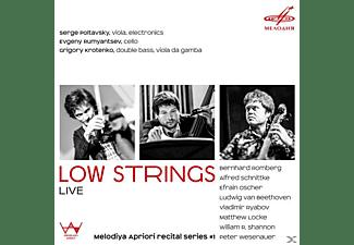 Poltavsky,S./Rumyantsev,E./Krotenko,G. - LOW STRINGS LIVE  - (CD)