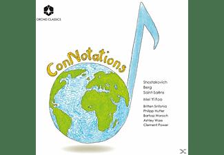 Britten Sinfonia, Bartosz Woroch & Philipp Hutter, Ashley Wass, Mei Yi Foo, Clement Power - CONNOTATIONS  - (CD)