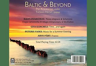 Koornhof,Piet/Hecht,Thomas - BALTIC & BEYOND  - (CD)