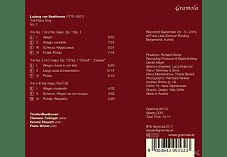 Triovanbeethoven - KLAVIERTRIOS VOL.1  - (CD)