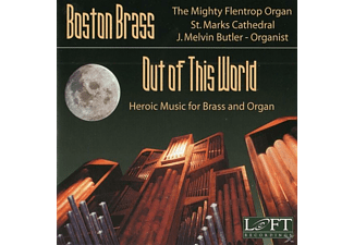 J.Melvin/Boston Brass Butler - OUT OF THIS WORLD  - (CD)