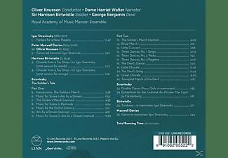 Walter/Birtwistle/Benjamin/Knussen/+ - GESCHICHTE VOM SOLDATEN  - (CD)