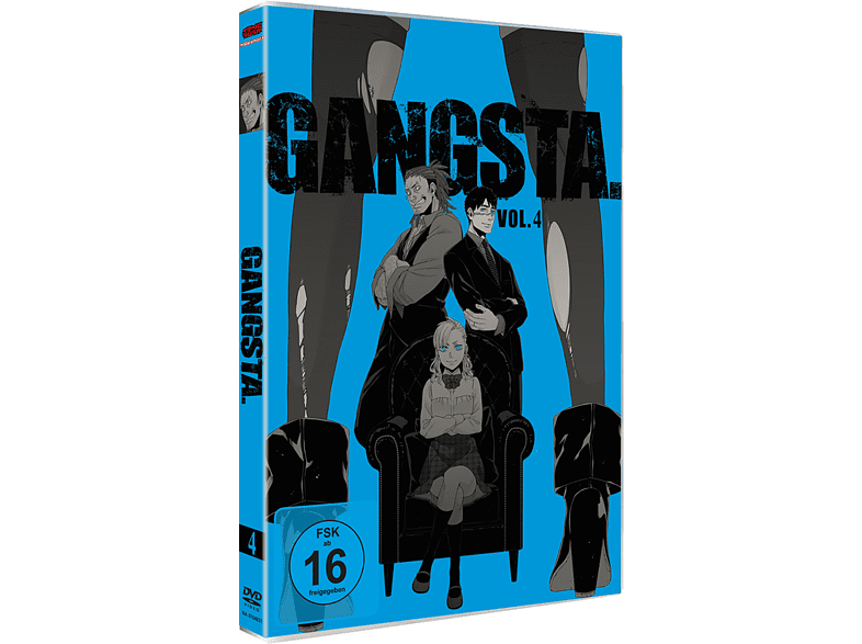 Gangsta - Vol. 4.4 (10-12) [DVD]