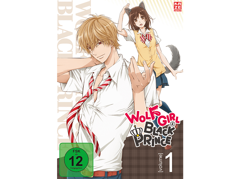 001 - Wolf Girl & Black Prince [DVD]