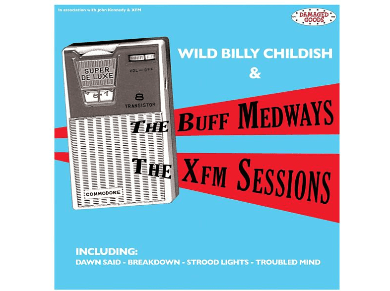 The Buff Medways - The XFM Sessions [CD]