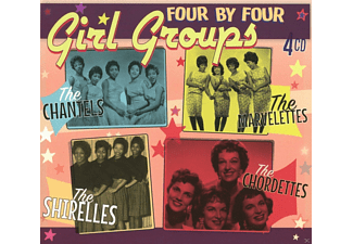 The Chantels, The Marvelettes, The Shirelles, The Chordettes - Girl Groups (CDx4) - (CD)