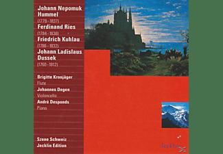 Andre Desponds, Brigitte Kronjäger, Johannes Degen - Kammermusik  - (CD)