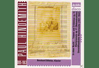 Billeter Bernhard - Bisher unveröffentlichte Klavierwerke  - (CD)