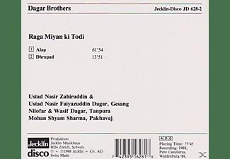 Dagar Brothers - Raga Miyan ki Todi  - (CD)