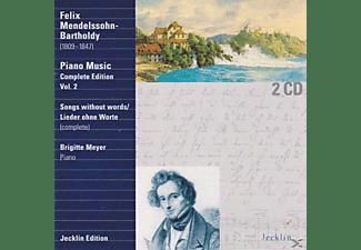 Brigitte Meyer - Lieder ohne Worte  - (CD)