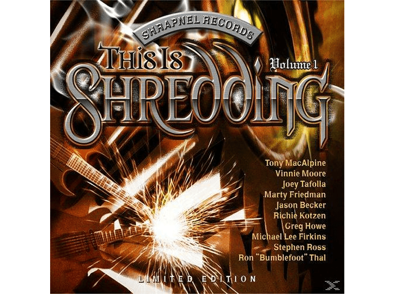 VARIOUS - This Is Shredding Vol.1 [CD]