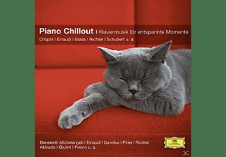 Einaudi/Gavrilov/Michelangeli/Pires/Schiff - Piano Chillout  - (CD)