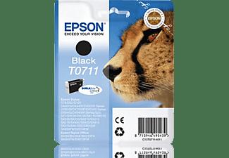EPSON Original Tintenpatrone Schwarz (C13T07114012)