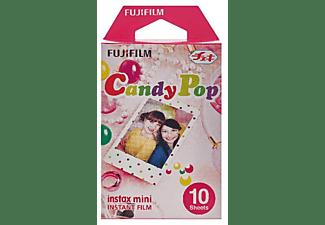 Película fotográfica - Fujifilm ColorFilm Instax Mini Candy Pop, 10 hojas