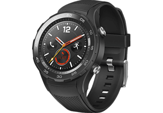 HUAWEI Watch 2 4G Smartwatch Kunststoff, 140-210 mm, Carbon Schwarz