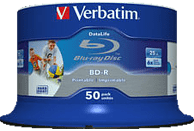 VERBATIM 43812 BD-R Single Layer HTL 25GB 6X Rohling