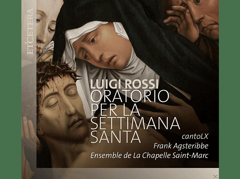 Frank Agsteribbe, Ensemble De La Chapelle Saint-marc - Oratorio Per La Settimana Santa [CD]