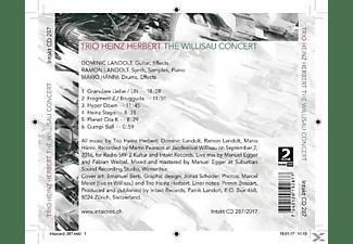 Trio Heinz Herbert - The Willisau Concert  - (CD)