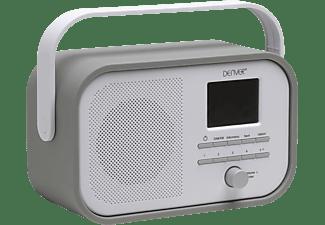 DENVER DAB-40 Radio, Digital, DAB+, FM, Grau