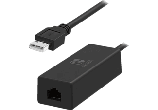 HORI NSW-004U Nintendo Switch Adapter, Schwarz