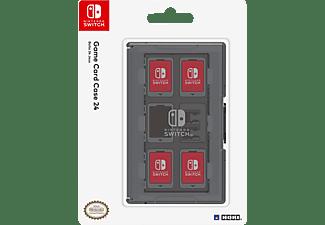 HORI Nintendo Switch Card Case (24) - Schwarz Nintendo Switch Tasche, Schwarz