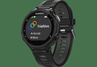 GARMIN Forerunner 735XT, GPS Multisport Uhr, 235 mm, Schwarz/Grau