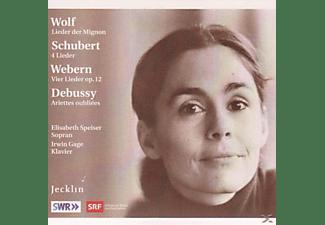 Elisabeth Speiser, Irwin Gage - Lieder  - (CD)