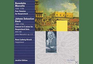 Hans Ludwig Hirsch, Harpsichchord - Marcello/Bach/Cembalosonat.  - (CD)