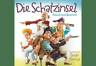 Gelesen Von Bodo Primus - Die Schatzinsel Von Robert Louis Stevenson  - (CD)