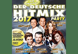 VARIOUS - Der deutsche Hitmix-Die Party 2017  - (CD)