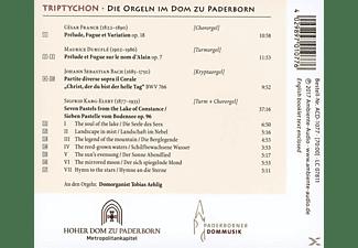 Tobias Aehlig - Triptychon-Die Orgeln Im Dom Zu Paderborn  - (CD)