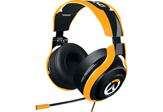 RAZER Man O'War Overwatch Tournament Edition - Cuffie da gaming (Nero/Arancione)