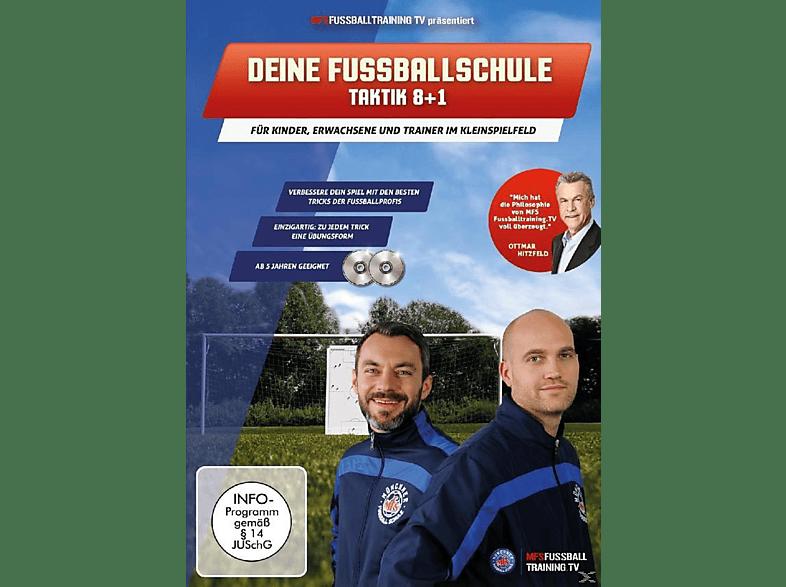 Deine Fußballschule - Taktik 8+1 [DVD]