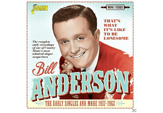 Bill Anderson - That's What It's Like  - (CD)