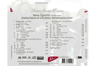 Brass Quintet And Percussion Marine Band Of The Ro - Letter From Home  - (CD)