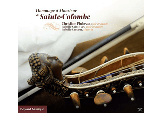 Christine  Plubeau, Isabelle Saint-Yves, Isabelle Sauveur - Hommage A M.De Ste-Colombe  - (CD)