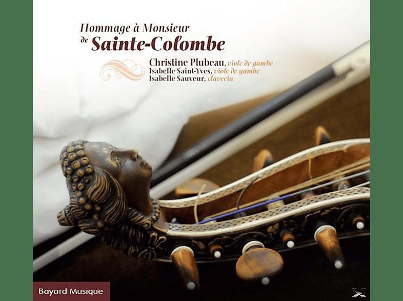 Christine  Plubeau, Isabelle Saint-Yves, Isabelle Sauveur - Hommage A M.De Ste-Colombe [CD]