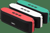 SOUND2GO 10123 Fresh Bluetooth Lautsprecher, Schwarz/Rot