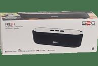SOUND2GO 10122 Fresh Bluetooth Lautsprecher, Schwarz/Weiß