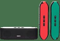 SOUND2GO 10121 Fresh Bluetooth Lautsprecher, Schwarz/Grün