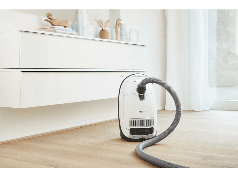 Miele S 8340 Ecoline Mit Beutel Airclean Filter Lotosweiss