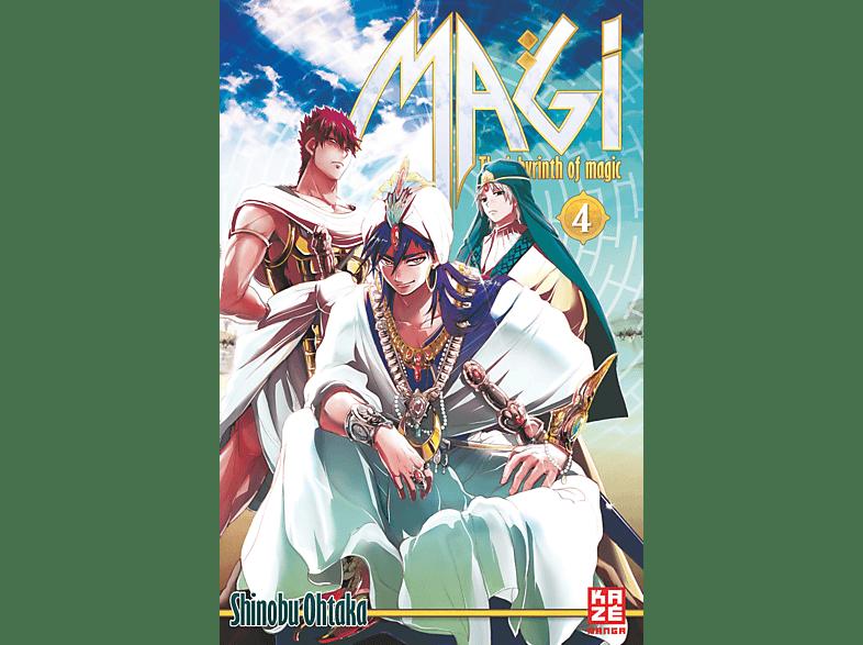 Magi – The Labyrinth of Magic – Band 4